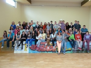 Tanzcrashkurs Schule im Emsbachtal 2013